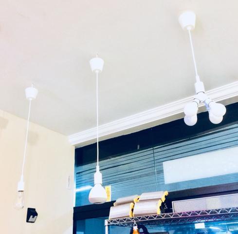 Imagem de Luminária / Pendente de lâmpada cor branco - 3446