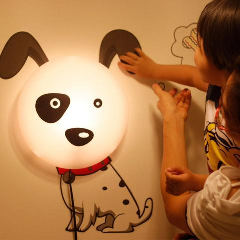 Imagem de Luminária Plafon infantil Dog  1 Lâmpada