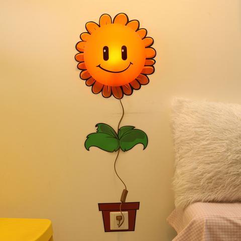Imagem de Luminária Plafon infantil  Flor Sunflower 1 Lâmpada