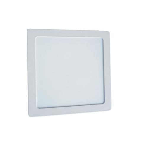 Imagem de Luminária plafon led 12 w Sobrepor Quadrada teto laje Econômica Branco frio-Prime light