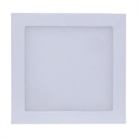 Imagem de Luminária Plafon LED Quadrado Sobrepor 18w Branco Frio 6500k