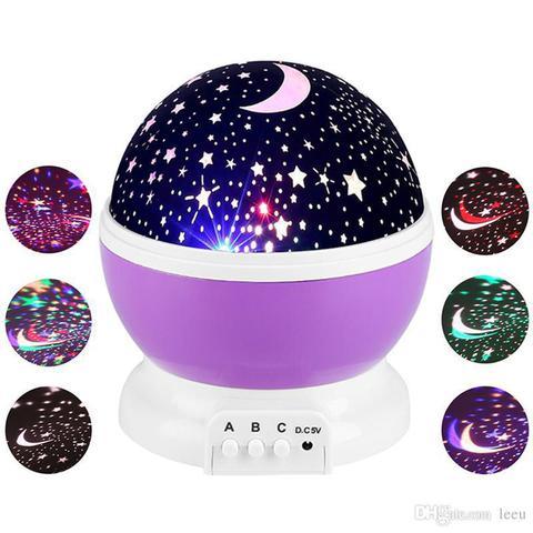Imagem de Luminária Projetor Estrela Abajur Universo Ceu 360 Luz