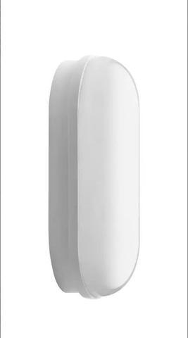 Imagem de Luminaria tartaruga oval led branca 8w 6500k ip65