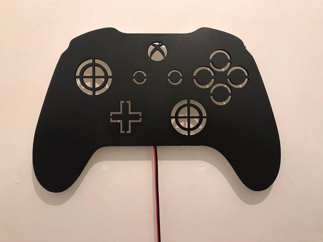 Imagem de Luminoso Decorativo de Parede Controle Xbox Game