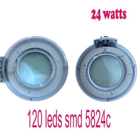 Imagem de Lupa Led Luminária 120 leds SMD regulavel Estética 220V GT724-2 - Lorben