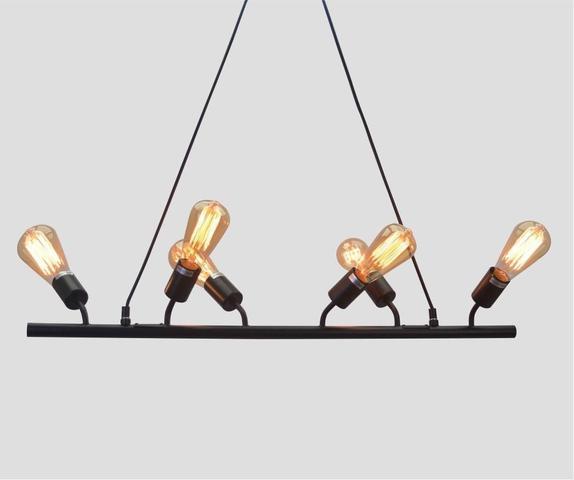 Imagem de Lustre Bar Lights Retro em Metal Pelegrin PEL-053
