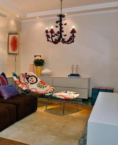 Imagem de Lustre para Sala de Jantar Flores de Ferro Artesanal Rustico