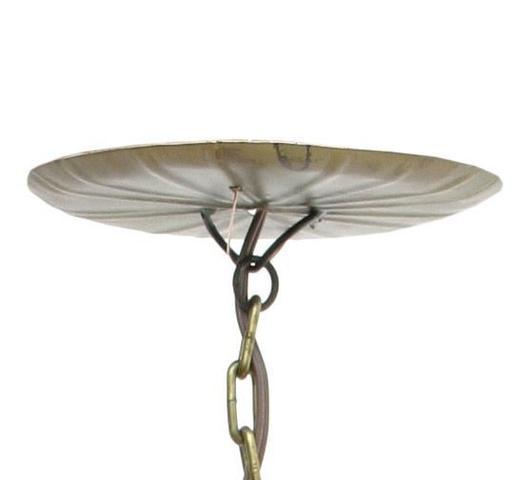 Imagem de Lustre Pendente Artesanal Para Sala de Jantar em Ferro Rustico Decorativo