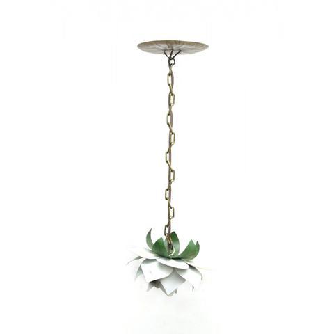 Imagem de Lustre Simples Barato de Ferro Artesanal para Sala de Jantar Moderna
