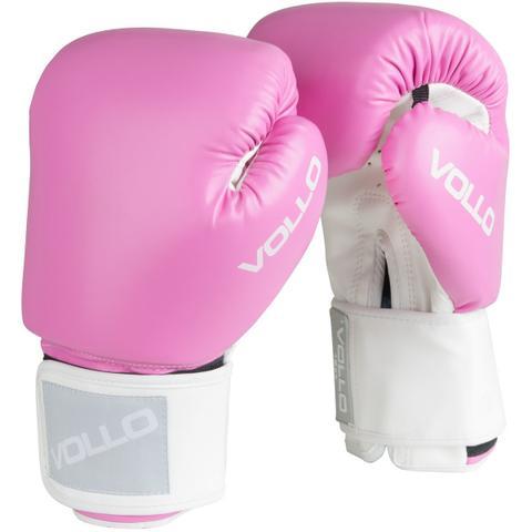 Imagem de Luva de Boxe COMBAT 10 OZ Rosa Vollo VFG303-10