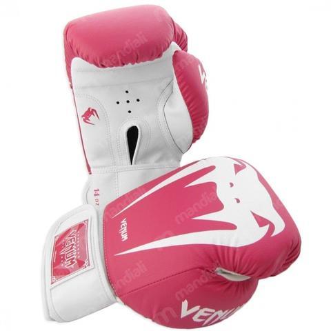 Imagem de Luva de Boxe Venum Giant Brasil Rosa 14 Oz
