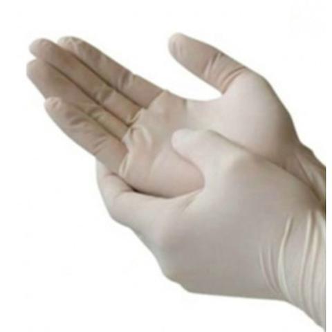 Imagem de Luva Descartável de Vinil c/Pó p/procedimento não cirúrgico G Cx 100 und Bompack