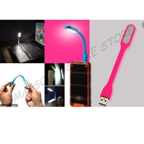 Imagem de Luz USB Flexível Para Notebook Pc Desktop Rosa