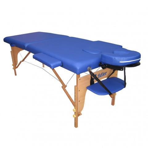 Imagem de Maca Portatil Mesa de Massagem Maleta Firme Azul