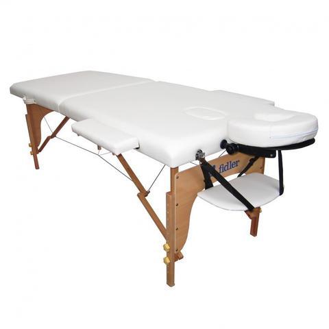 Imagem de Maca Portatil Mesa de Massagem Maleta Firme Branca
