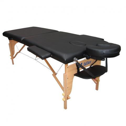 Imagem de Maca Portatil Mesa de Massagem Maleta Firme Preta