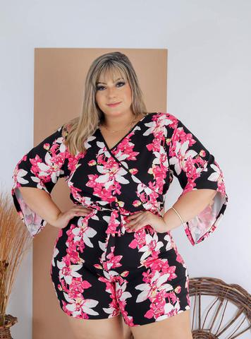 Imagem de Macacão Macaquinho Plus Size Roupas Moda  Femininas GG