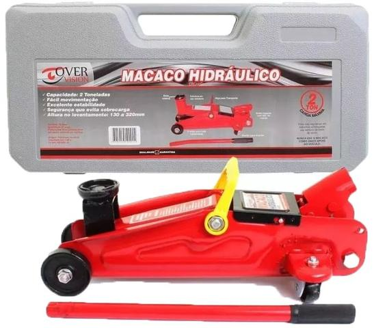 Imagem de Macaco Hidraulico Jacare 2 toneladas Renault Logan Tds