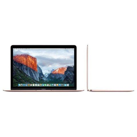 "Imagem de MacBook Apple Dourado 12"", 8GB, SSD 512GB, Intel Core i5 dual core de 1,3GHz - MNYN2BZA"