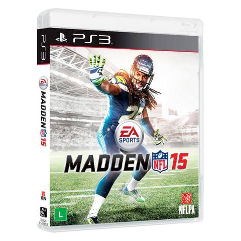 Jogo Madden Nfl 15 - Playstation 3 - Ea Sports