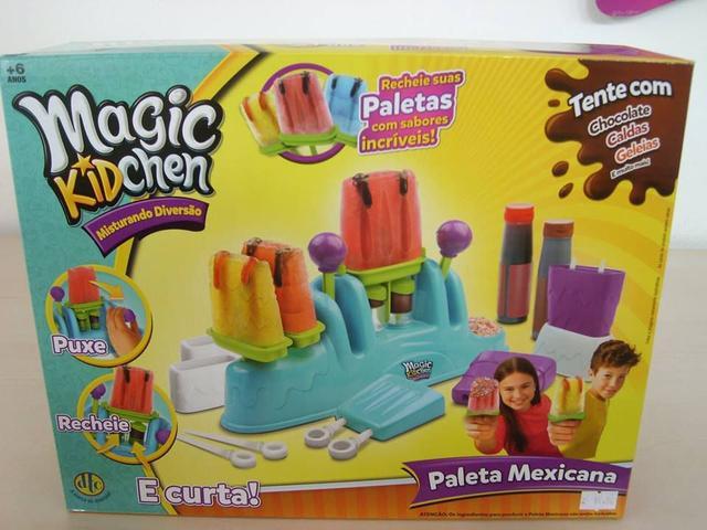 Imagem de Magic KidChen Faz de Verdade Paleta Mexicana ( Picolé) DTC