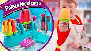 Imagem de Magic Kidchen Máquina Infantil de Fazer Paleta Mexicana DTC