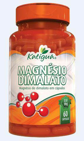 Imagem de Magnésio Dimalato Verdadeiro 2 x 60 Cápsulas Dr Lair Ribeiro 550mg Katigua