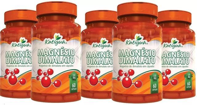 Imagem de Magnesio Dimalato Verdadeiro 5x 60 Cápsulas Dr Lair Ribeiro