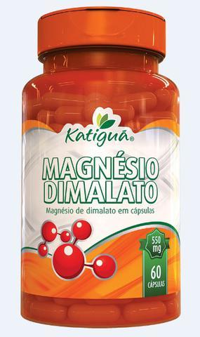 Imagem de Magnésio Dimalato Verdadeiro 6 x 60 Cápsulas Dr Lair Ribeiro 550mg Katigua