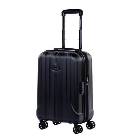 Imagem de Mala de Viagem Media Expansível em Policarbonato SAMSONITE Fiero Cadeado TSA e Rodas Duplas Preta