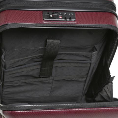 Imagem de Mala Yins brasil Bordo 20 ABS Compartimento Note