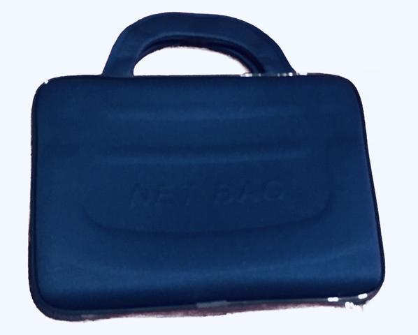Imagem de Maleta case estojo Executiva Notebook de até 15,6 Polegada Azul Marinho + Mouse com fio