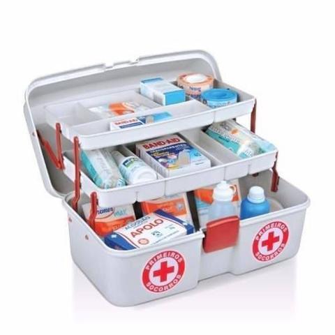 Imagem de Maleta de Primeiros Socorros - Porta Medicamentos