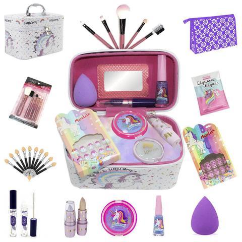 Imagem de Maleta Infantil París + Kit maquiagens e itens de beleza BZ41