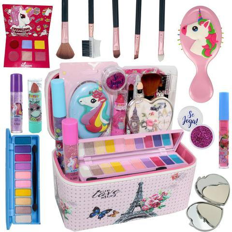 Imagem de Maleta Kit Maquiagem Completo Infantil Promoção