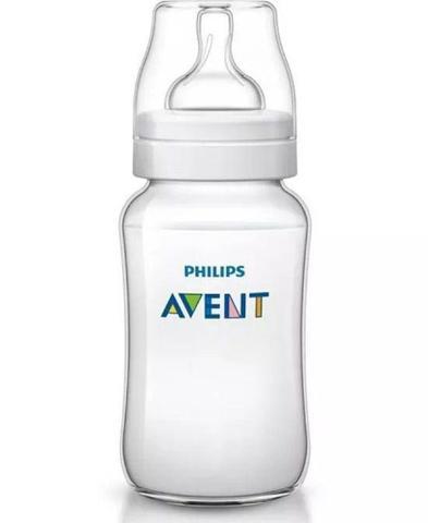 Imagem de Mamadeira Classica Avent 125/260/330ml Transparente - Philips Avent kit com 3