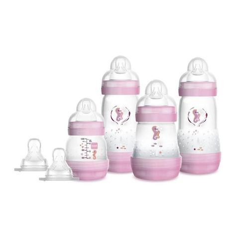 Imagem de Mamadeira kit easy start gift set rosa