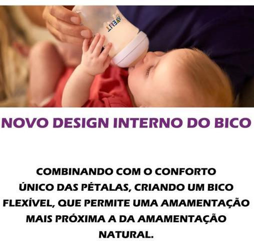 Imagem de Mamadeira Petala 260ml Flamingo Avent