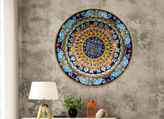 Imagem de Mandala MDF - Colorida CRL - 65x65cm