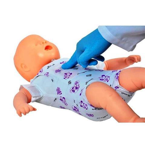 Imagem de Manequim Bebê Manobra de Heimlich e Treino de RCP Simulador Médico