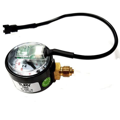 Imagem de Manômetro T800 P/comutadoras TURY GAS T1000 T1011 T1015 T1200 T3000 IGT