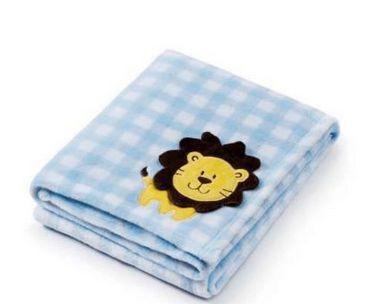 Imagem de Manta Bebê Cobertor Infantil Anti Alérgico