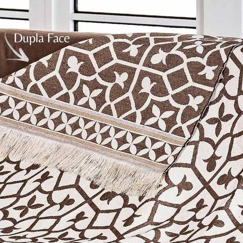 Imagem de Manta para Sofa Retratil Ornare Premium Oferta Envio 24h Tabaco