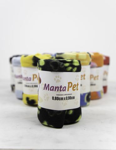 Imagem de Manta Pet Soft Estampado Cachorro e Gato ( 0,80 x 0,90)