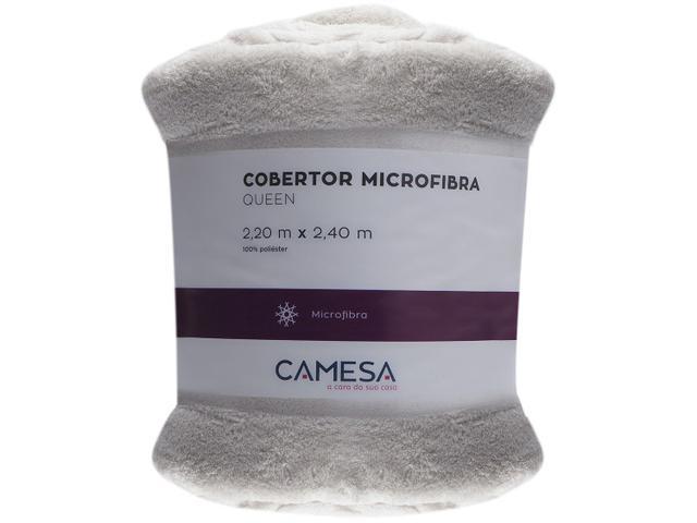 Imagem de Manta Queen Microfibra Camesa