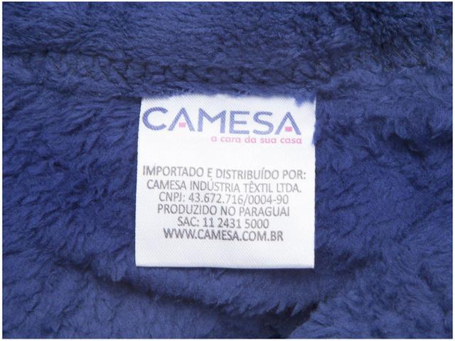 Imagem de Manta Queen Size Microfibra Camesa