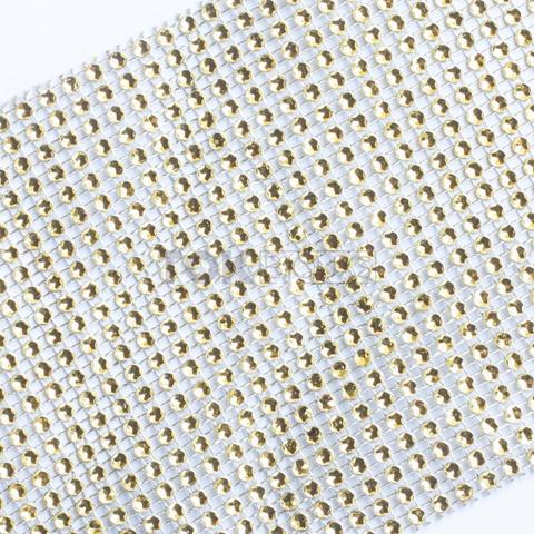 Imagem de Manta Strass Acrílico - Dourado - 10cm x 1 Metro