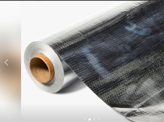 Imagem de Manta Térmica Para Telhados Dupla Face Rolo 25m² + 1 Fita Me