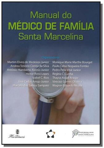 Imagem de Manual do medico de familia santa marcelina