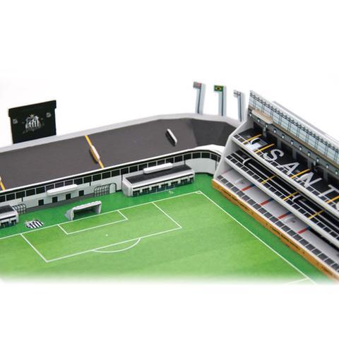 Maquete 3D Oficial - Estádio Vila Belmiro - Nanostad - Jogos ... 3d5f5ff542740